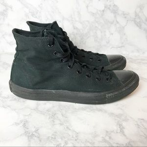 Converse All Star All Black High Top Sneakers